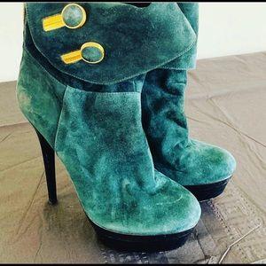 6 inch Rachel Zoe suede booties